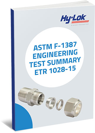Six-page Brochure: ASTM F-1387 Engineering Test Summary